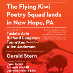 The Flying Kiwi Poetry Squad Lands in New Hope