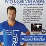 "NAC hosts Louis Van Amstel from ""Dancing with the Stars"""