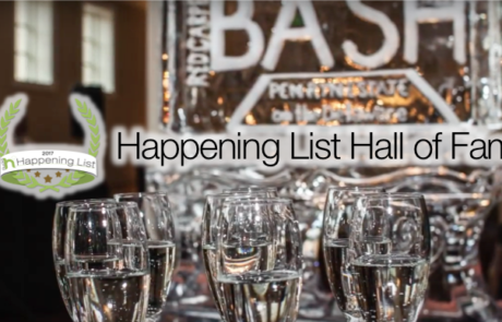 Happening List Hall of Fame