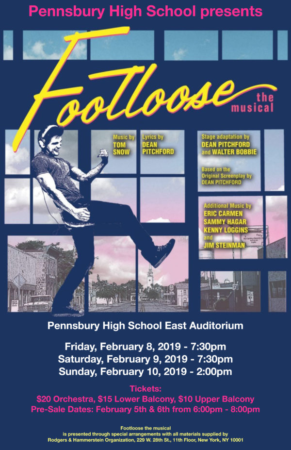 Cut Loose At Pennsbury High Schools Performance Of Footloose