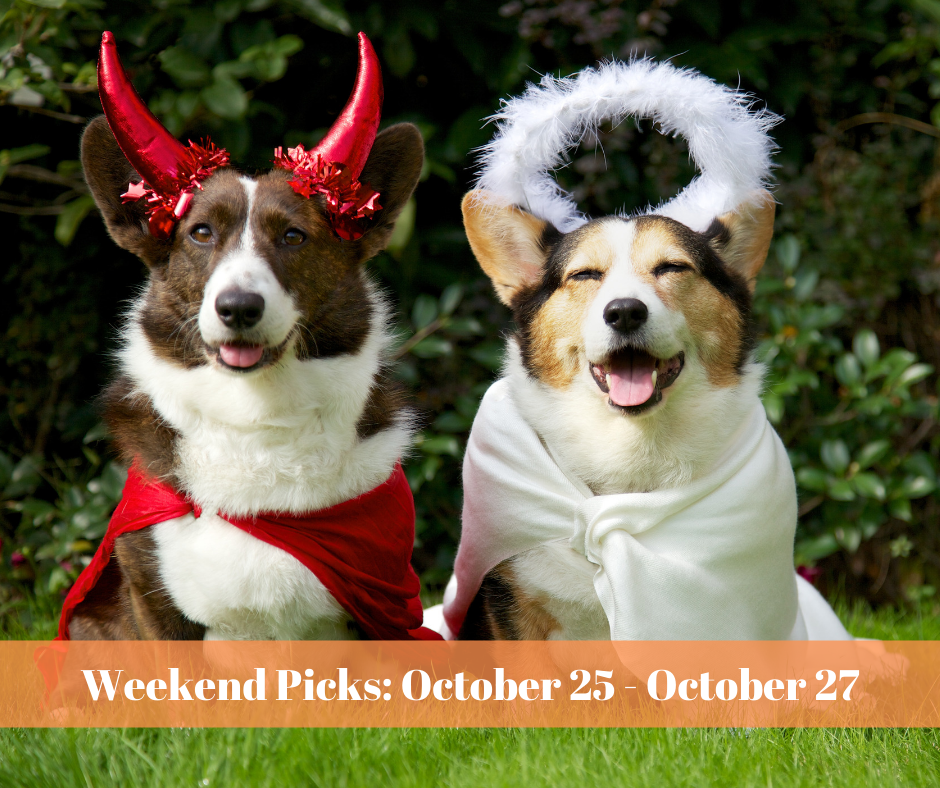 Bucks Happening's Weekend Picks: October 25 – October 27